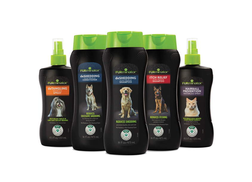 FURminator® Pet Shampoos, Conditioners and Grooming Sprays by Spectrum Brands - Global Pet Care and Home & Garden