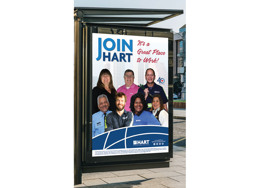 Hillsborough Area Regional Transit Authority Join HART Shelter Advertising