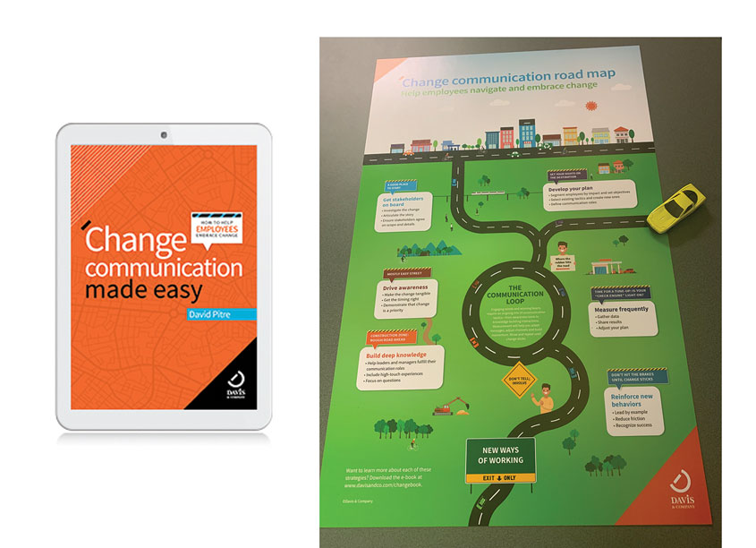 Davis & Company Change Communication Made Easy E-Book and Roadmap