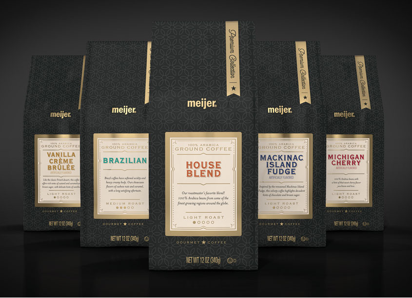 Gourmet Coffee Package Design Series by COHO Creative