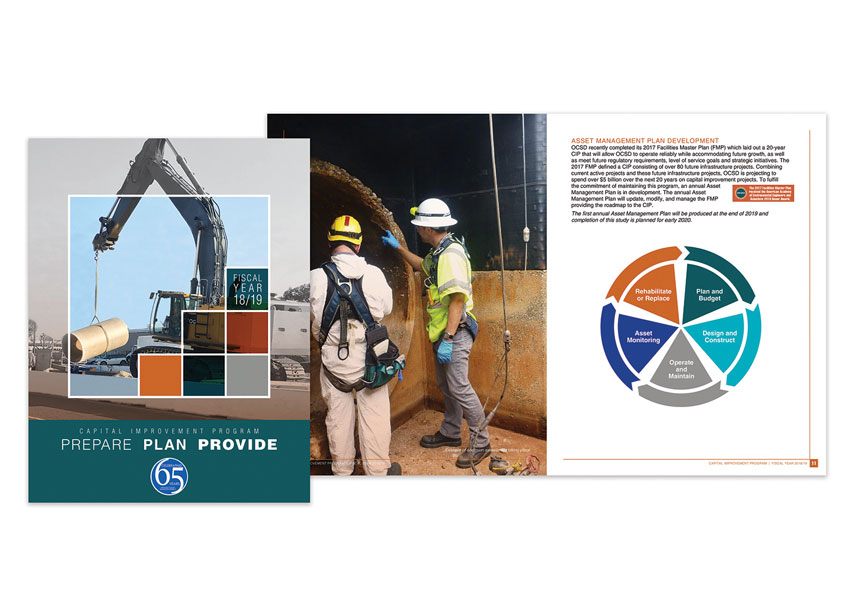 Prepare, Plan, Provide Capital Improvement Program by Orange County Sanitation District