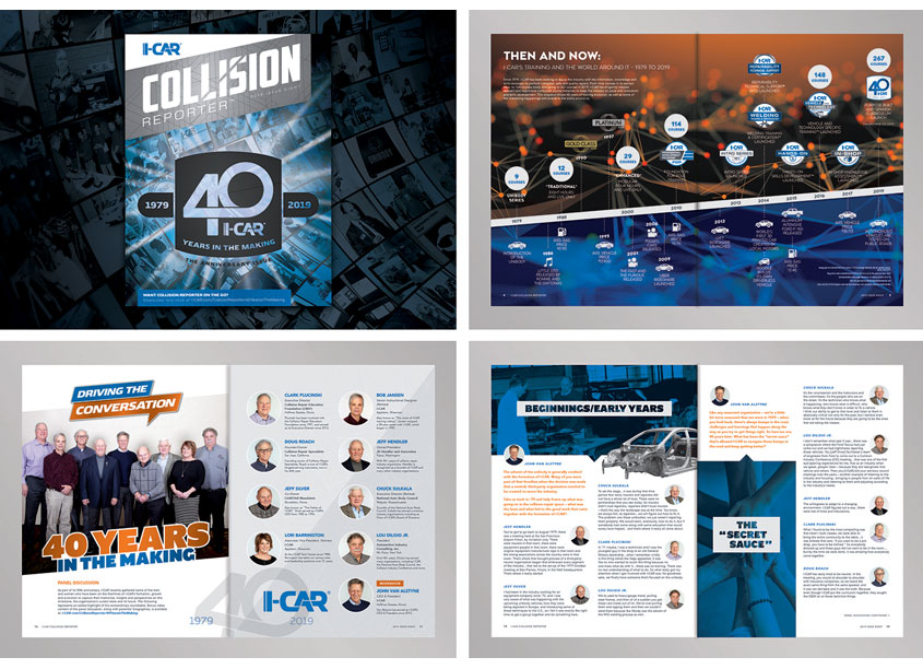 Collision Reporter - The 40 Years In The Making Issue by I-CAR InHouse Creative