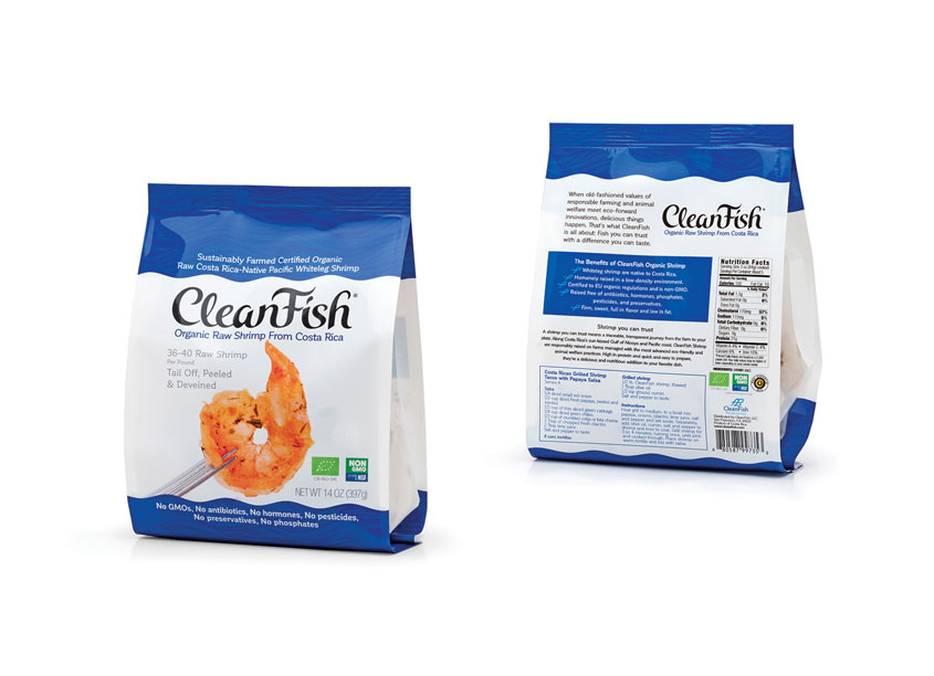 CleanFish Organic Shrimp by Mark Oliver Inc.