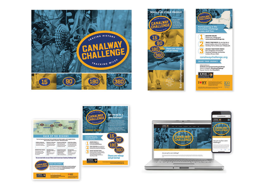 Canalway Challenge Branding by 2k Design
