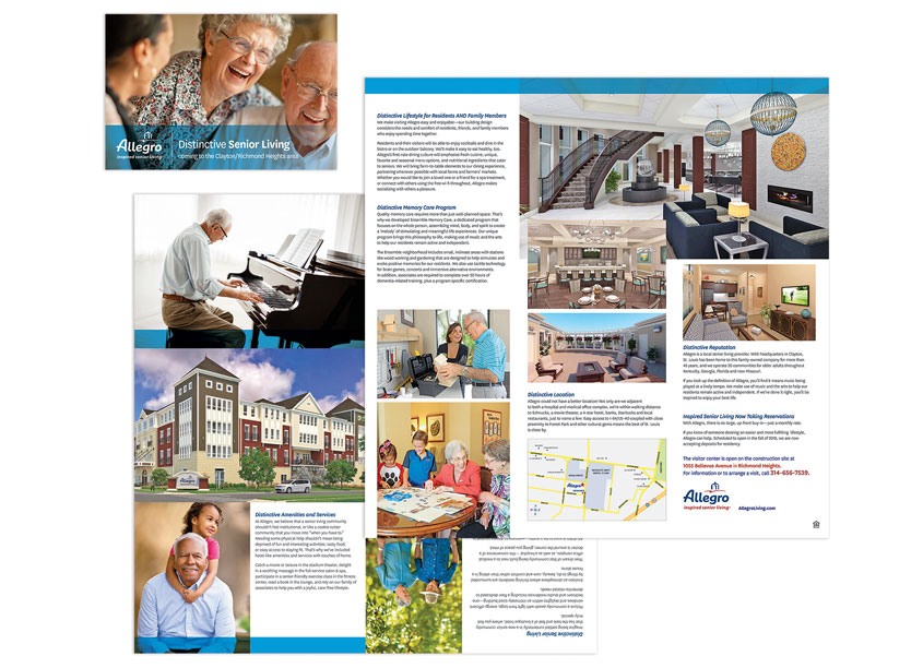 cfk creative Richmond Heights Community Brochure