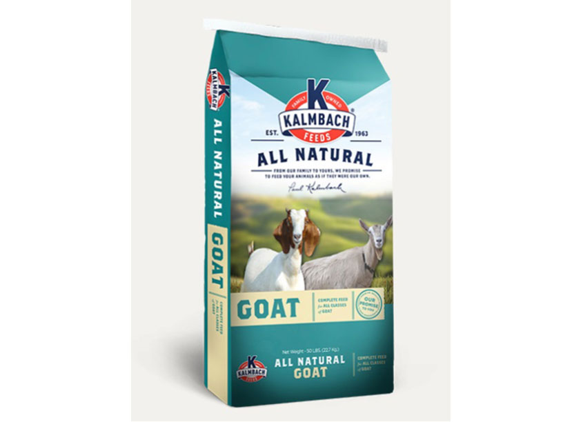 All Natural Milk Maker Goat Feed by ProAmpac Holdings, Inc.