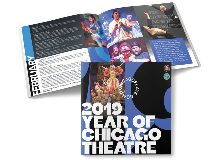 Lisa Cain Design Year of Chicago Theatres Guide