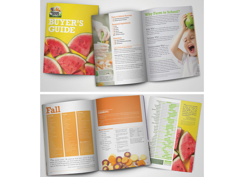 Farm to School Buyer's Guide by Grapevine Local Food Marketing