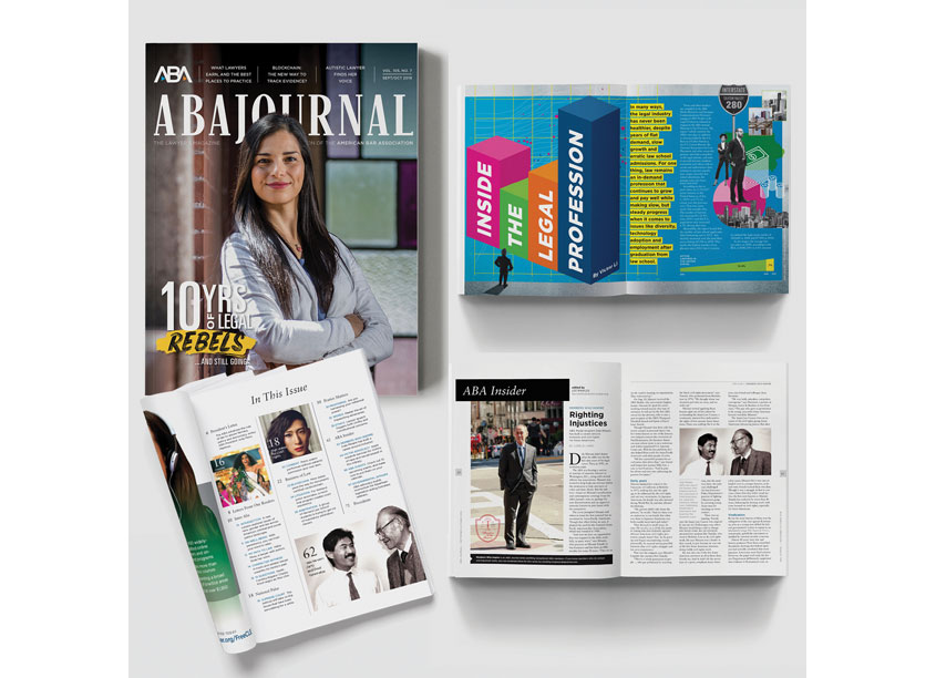ABA Journal Magazine Redesign by American Bar Association