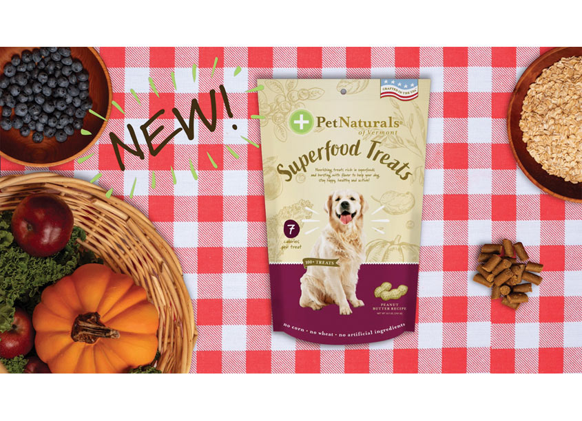 Pet Naturals SuperFood Treats by FoodScience Corporation