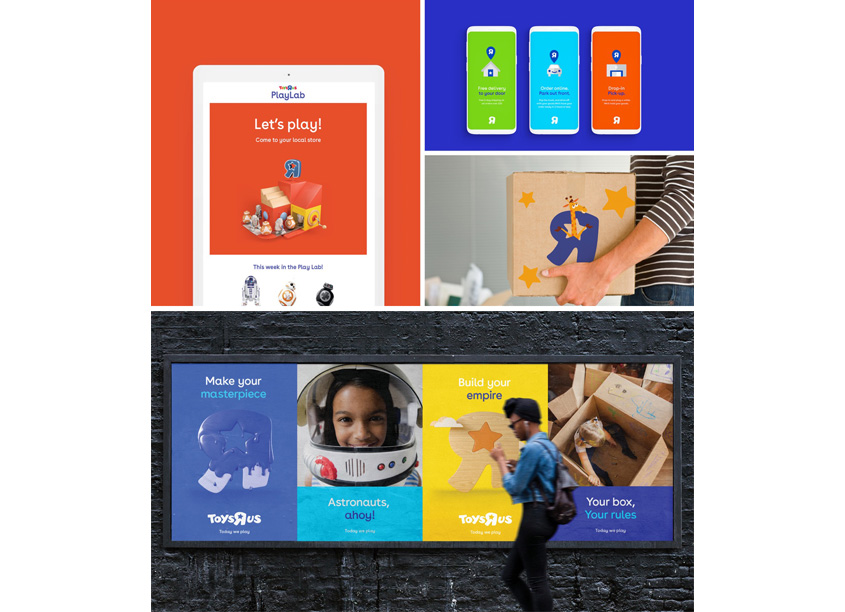 Toys 'R' Us Branding and Identity by Lippincott