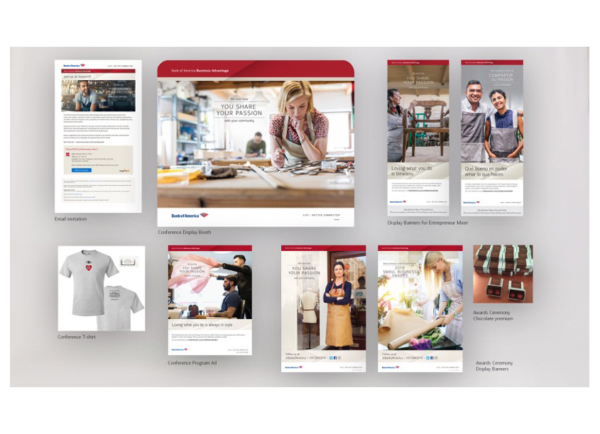 San Francisco SB Week Integrated Advertising Campaign by Bank of America, Enterprise Creative Solutions