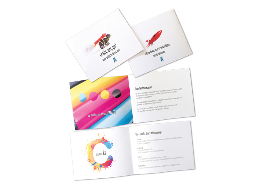 Ready, Set, Go! Your Guide To Direct Mail by Anne Ink LLC