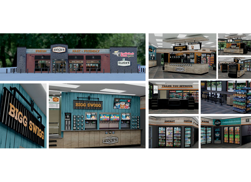 Huck's Convenience Store Rebrand & Remodel by GSP Companies