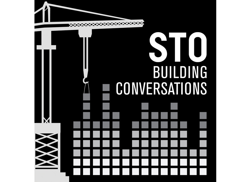 STO Building Conversations Podcast Logo by STO Building Group