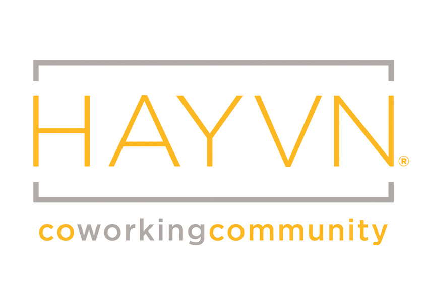 Havyn Coworking Space Logo Design by New Leaf Graphic Design