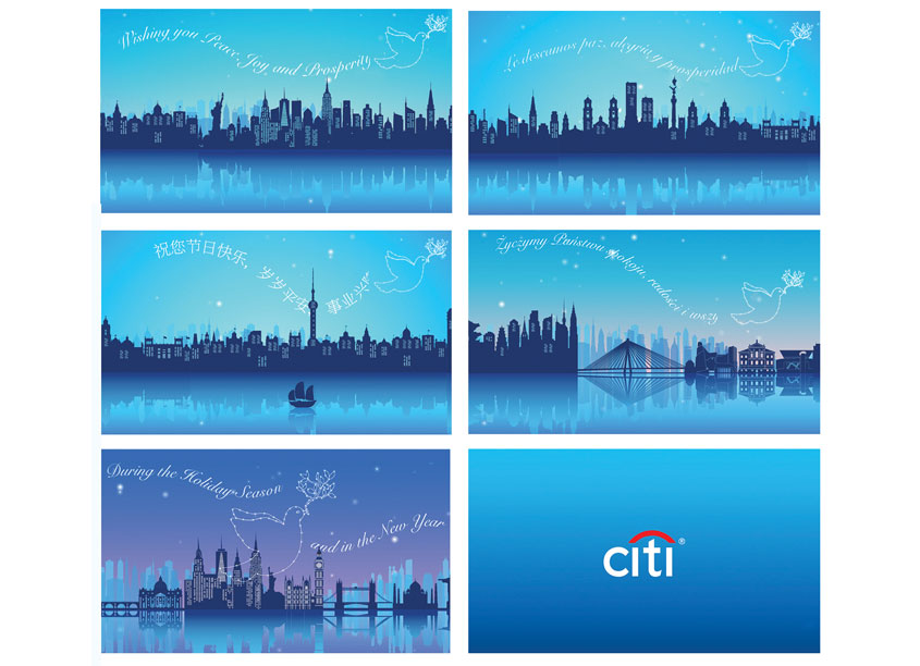 Citi Commercial Bank 2018 Holiday E-Card by Citi