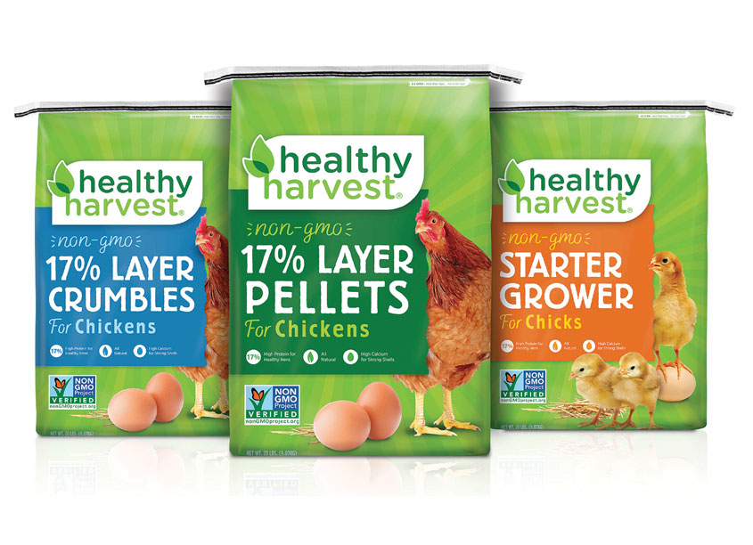 Healthy Harvest Logo and Package Design by Truly Creative