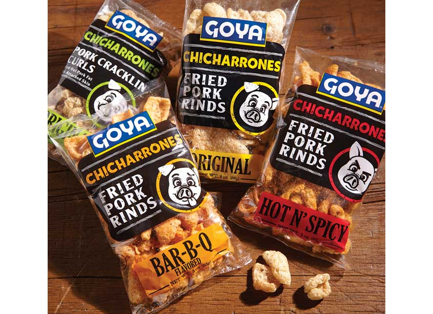 Goya Chicharrones by Alessandro/Weber Design