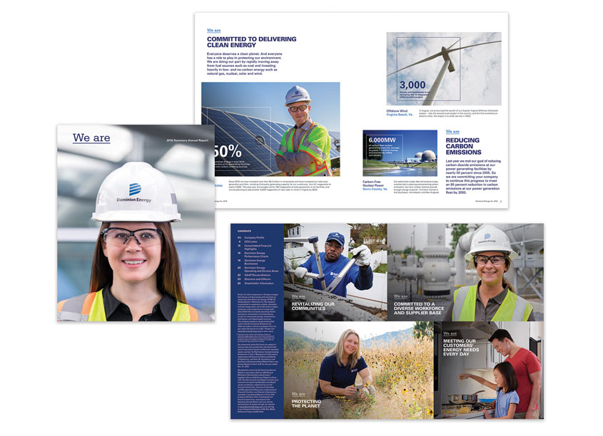 Dominion Energy Sustainability and Corporate Responsibility Website by Ideas On Purpose