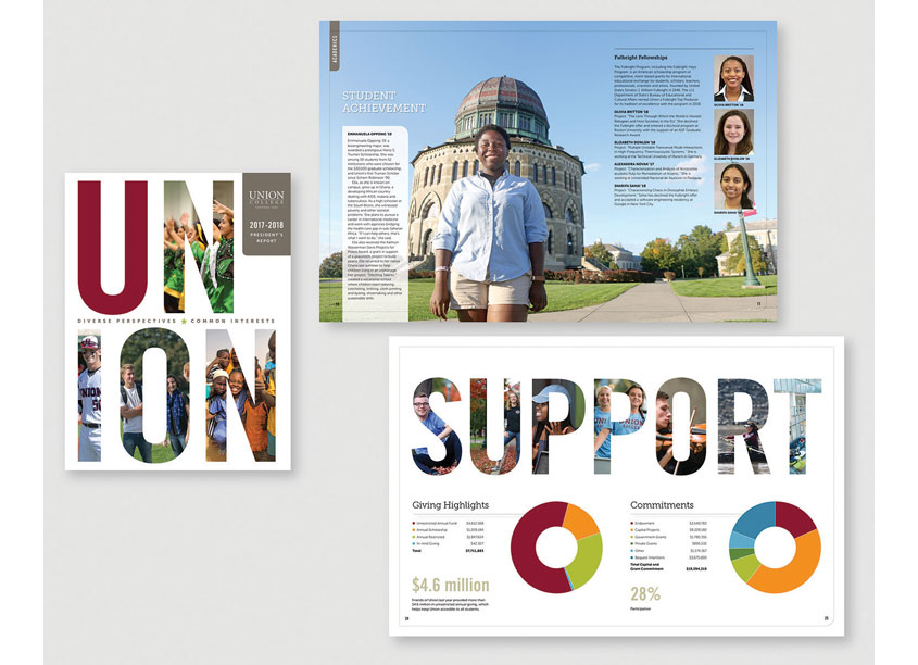 Union College 2017-2018 President's Report by 2k Design