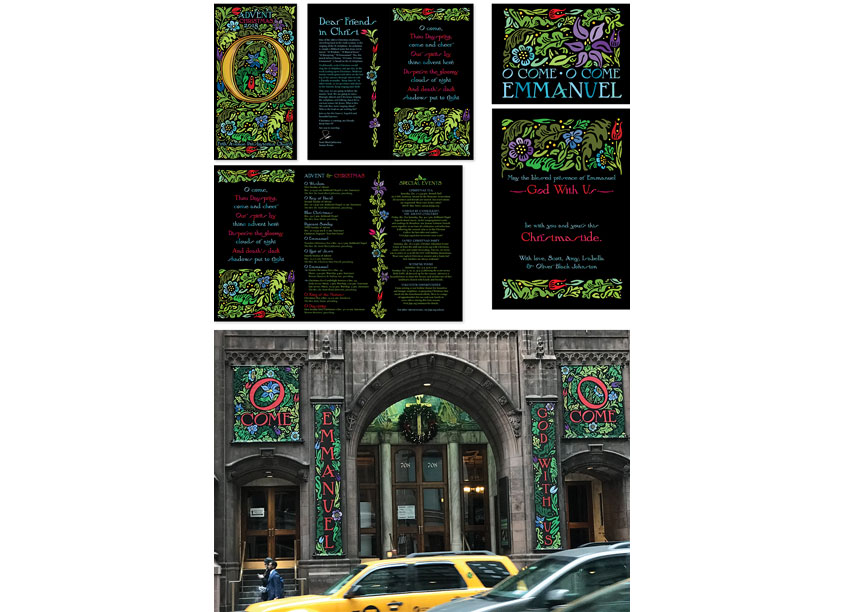Advent Brochure & Collateral by Fifth Avenue Presbyterian Church