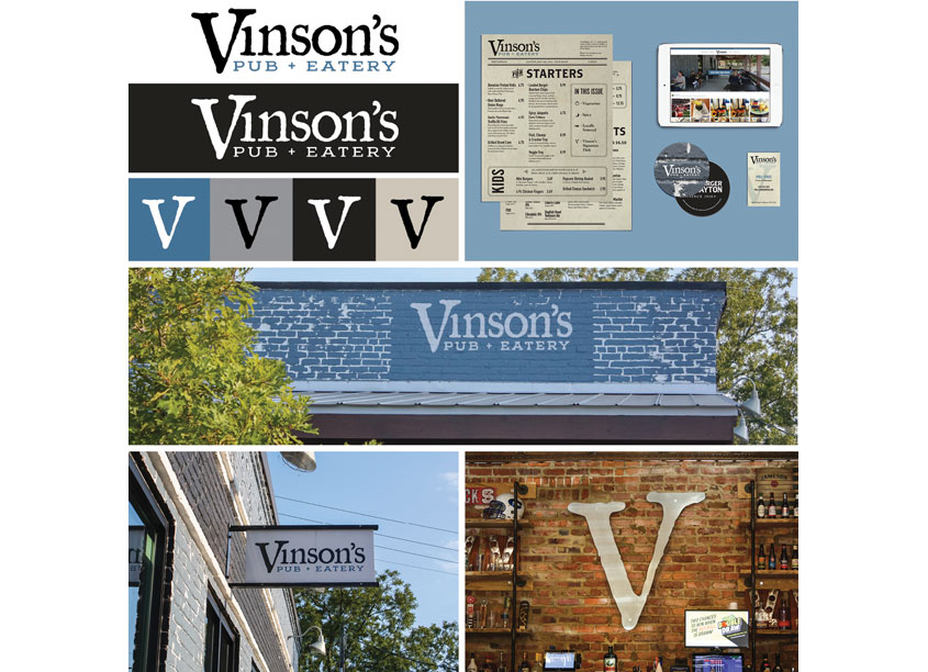 Vinson's Brand Identity Principal by Canopy Thinks