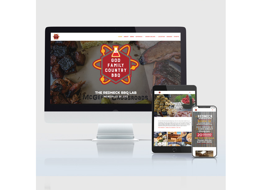 Canopy Thinks Redneck BBQ Labs Website Design