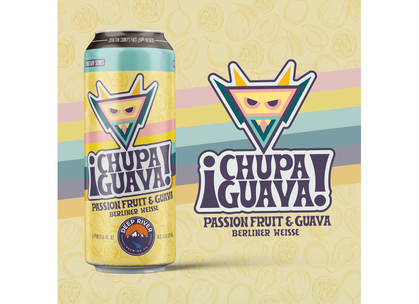 Chupa Guava Can Label Design Principal by Canopy Thinks