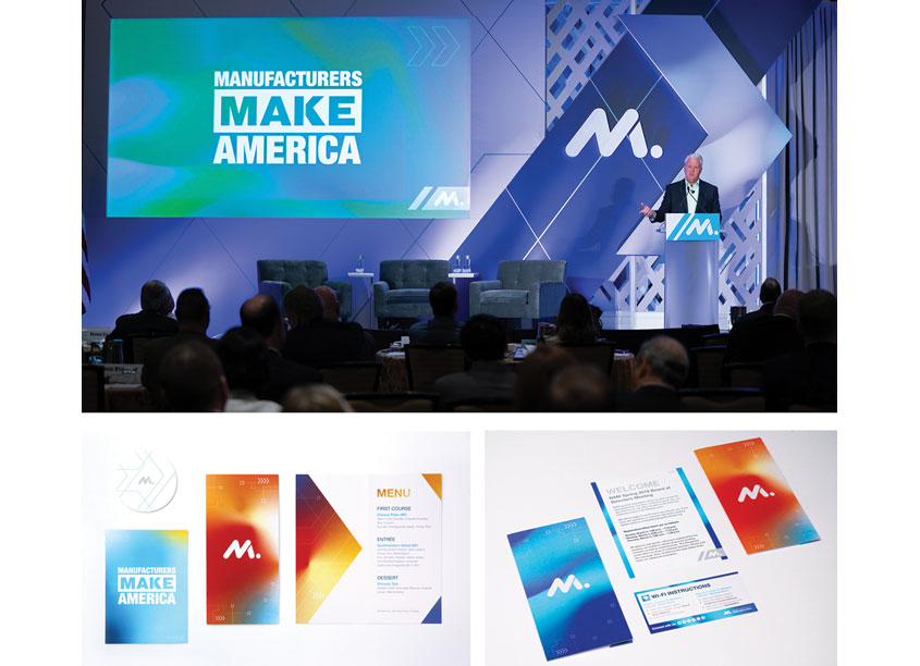 NAM Brand Identity Design by National Association of Manufacturers