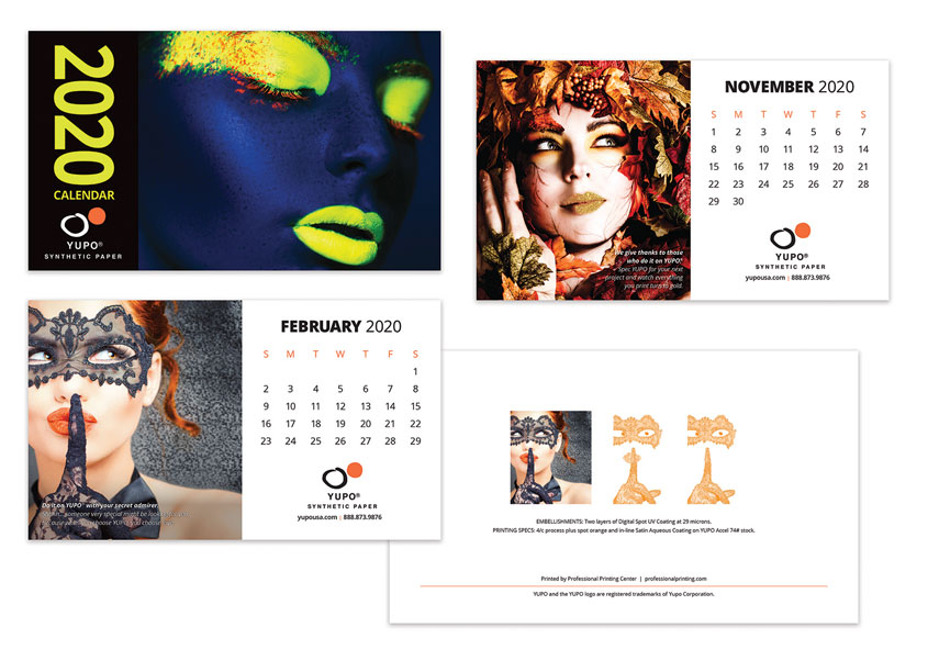 O'Brien et al Advertising 2020 Calendar Design