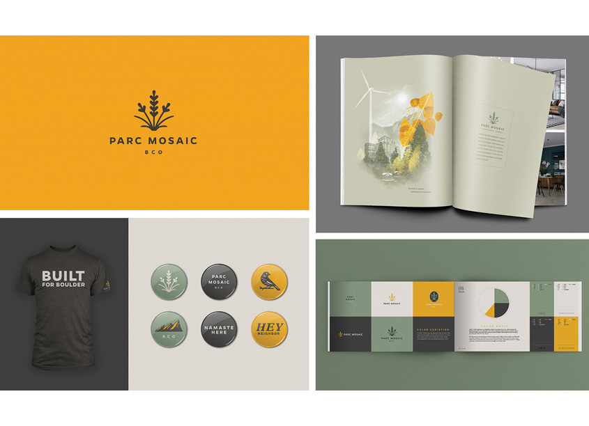 Parc Mosaic Branding by Cactus