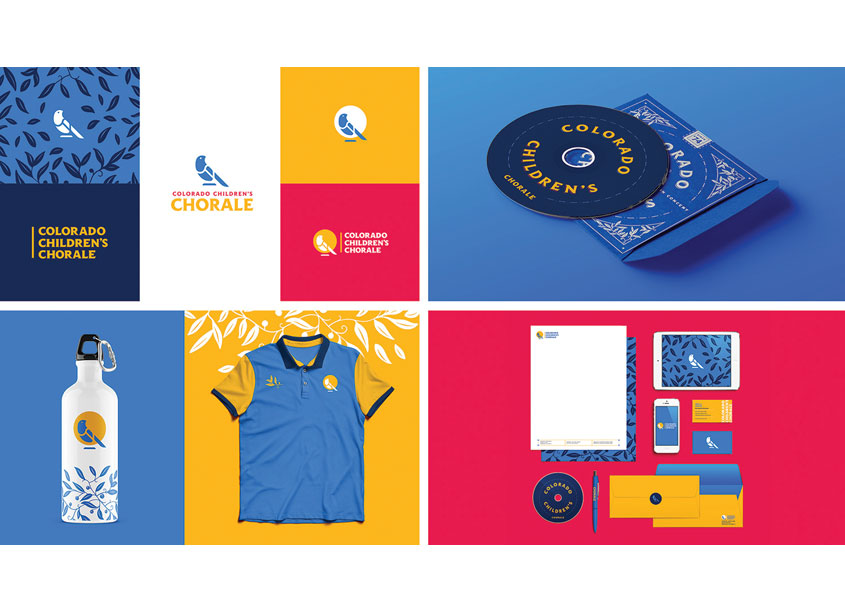 Colorado Children's Chorale Branding by Cactus