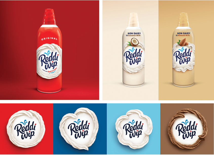 Reddi Wip Package Design by Davis