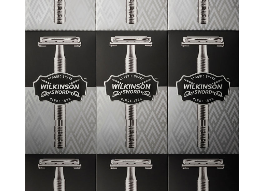 Wilkinson Sword Double Edge Razor Package Design by Bridgemark
