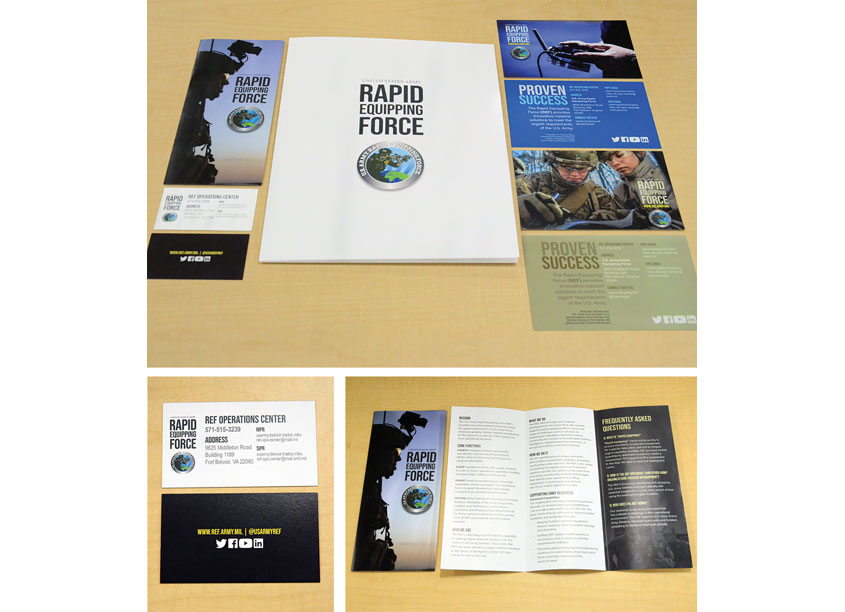 The Ravens Group, Inc. U.S. Army REF Marketing Collateral