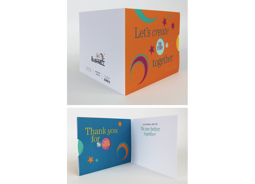 Firebrick Design Annual Thank You Card