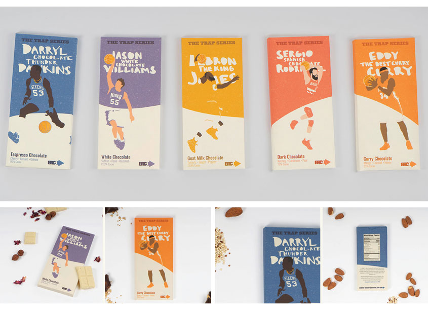 Shillington School of Graphic Design Birthright Chocolate Packaging
