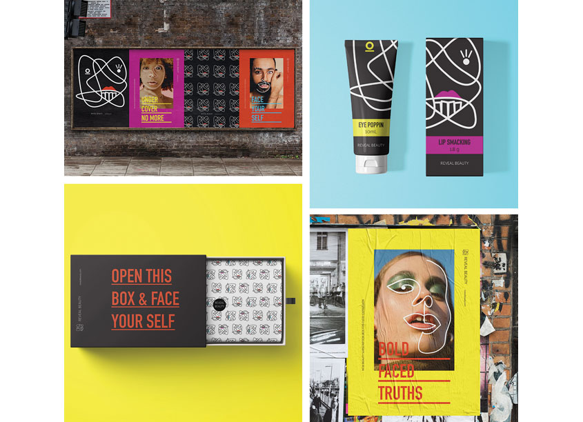 Reveal Beauty by Shillington School of Graphic Design
