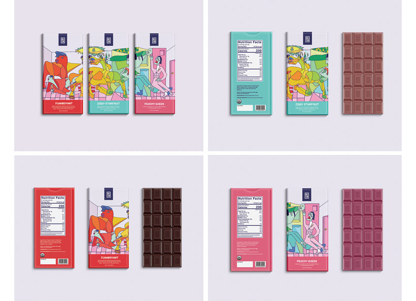 Kiki Packaging by Shillington School of Graphic Design