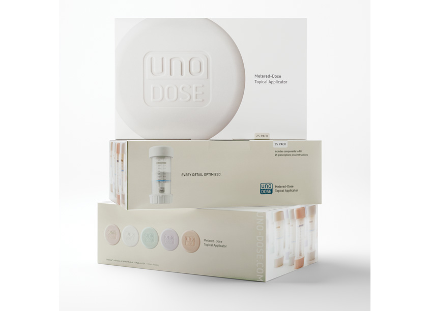 UnoDose 25 Pack Box by ThinkDesign Group