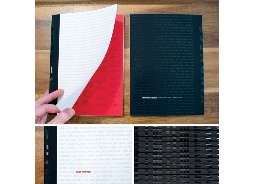 Think Kindness Notebook by ThinkDesign Group