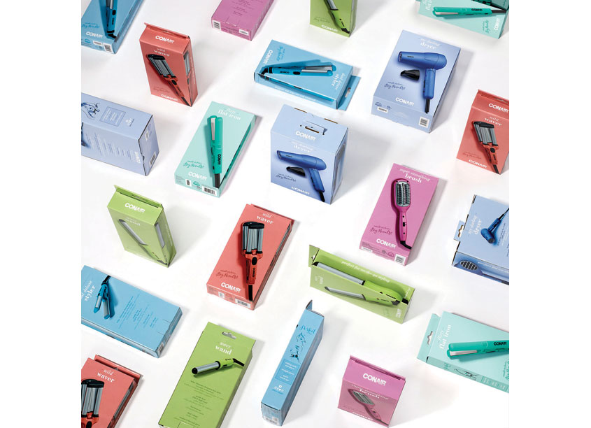 Mini Stylers Packaging by Conair Corporation