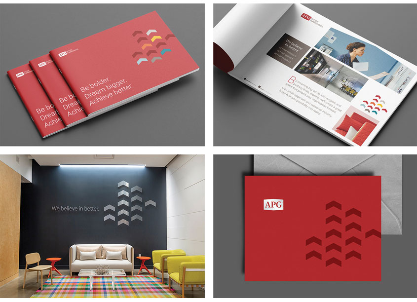 APG Brand System by 5 by 5 Design