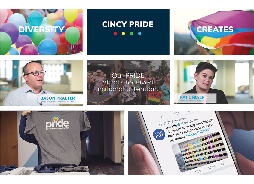 Blue Star Design CBTS/Cincinnati PRIDE Videos