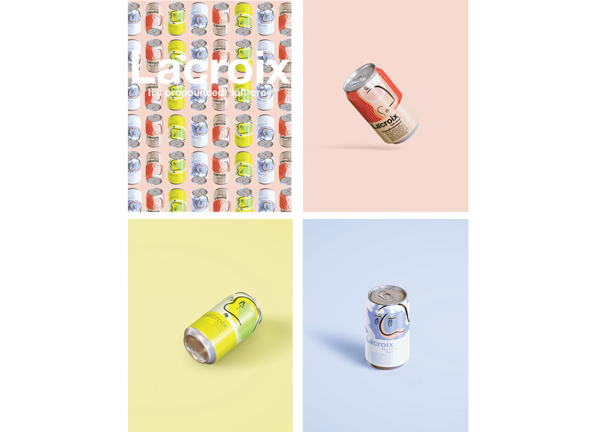 LaCroix Branding by Oust