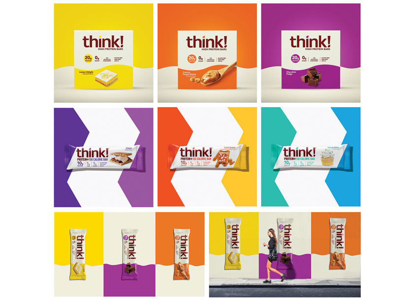 DDW THINK! Products Package Design