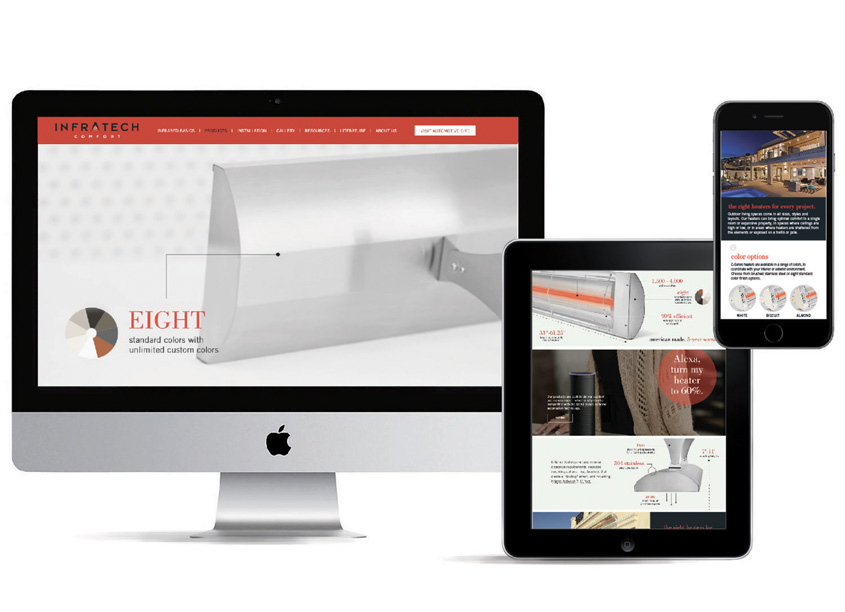 Infratech Series Web Page and Video by The Kitchen Collaborative