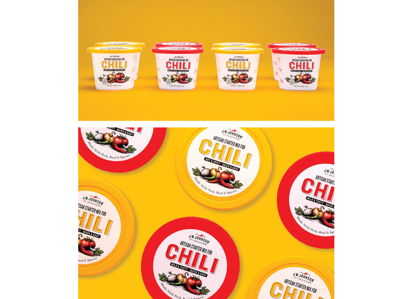 Johnson's Chili Rebrand by Ellen Bruss Design