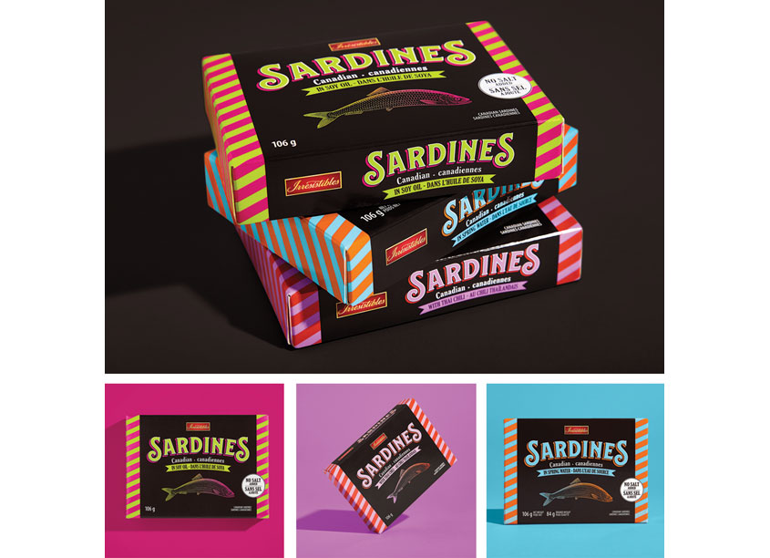 Metro Sardines Packaging and Illustration by Pigeon Brands